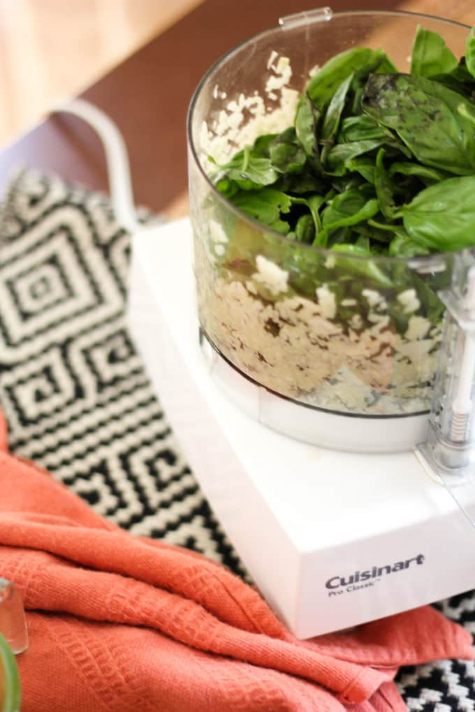 Use a Food Processor to Make Pesto
