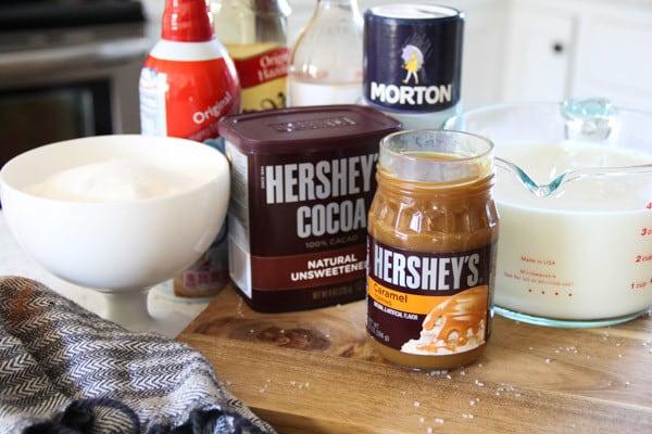 Ingredients for Starbucks Copycat Recipe