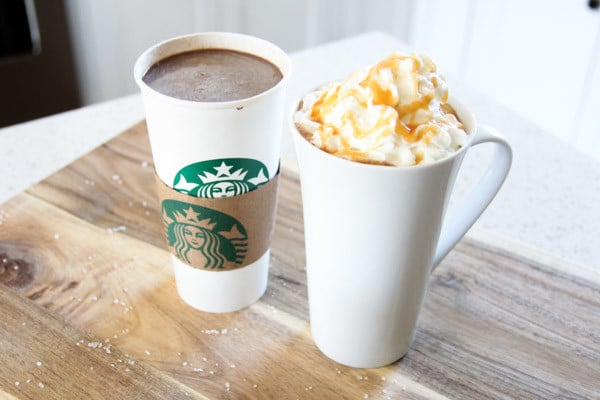 Salted Caramel Hot Chocolate from Starbucks Recipe