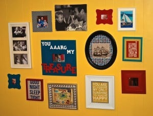 Pirate Gallery Wall