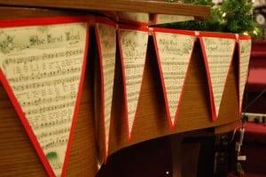 Christmas Music Bunting