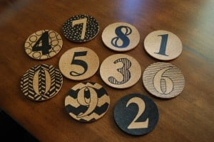 Design Your Own Cork Coasters