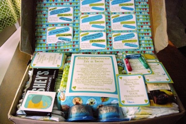 Charming Prayer And Notes Baby Shower Activity