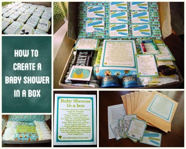 Create a Long Distance Baby Shower in a Box