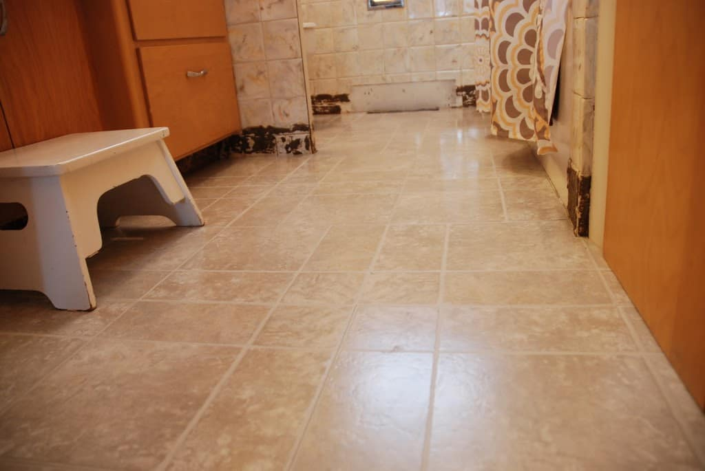 The Flooring Frenzy Continues How To Lay Peel And Stick Tile