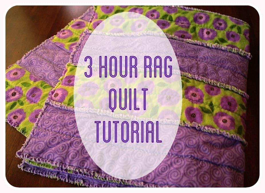 3 Hour Rag Quilt Tutorial