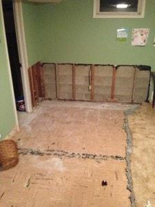 Drywalling the Basement