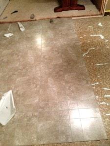 Kitchen Flooring Updates Peel And Stick Linoleum Tile