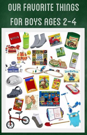 Favorite Gifts for Boys