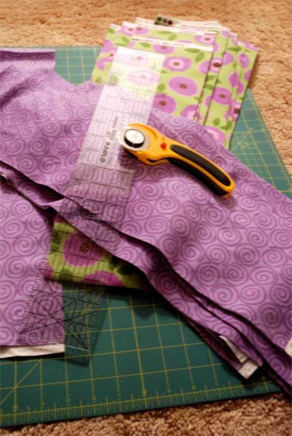 How to Make a Flannel Fringe Quilt