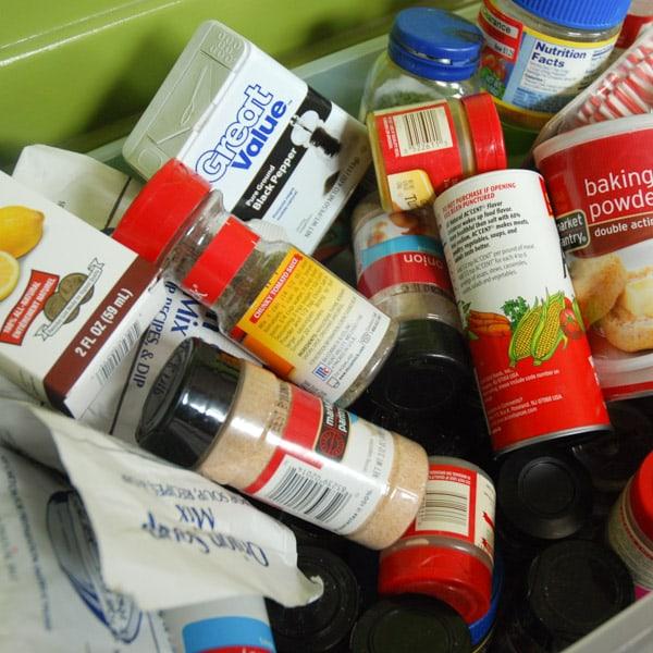 Disorganized Spices