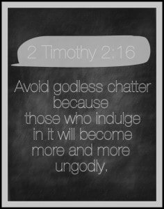 2 Timothy 2 16 Free Printable Chalkboard Verse