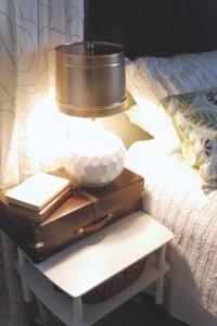 DSC 0088 200x300 DIY Popcorn Tin Lampshade