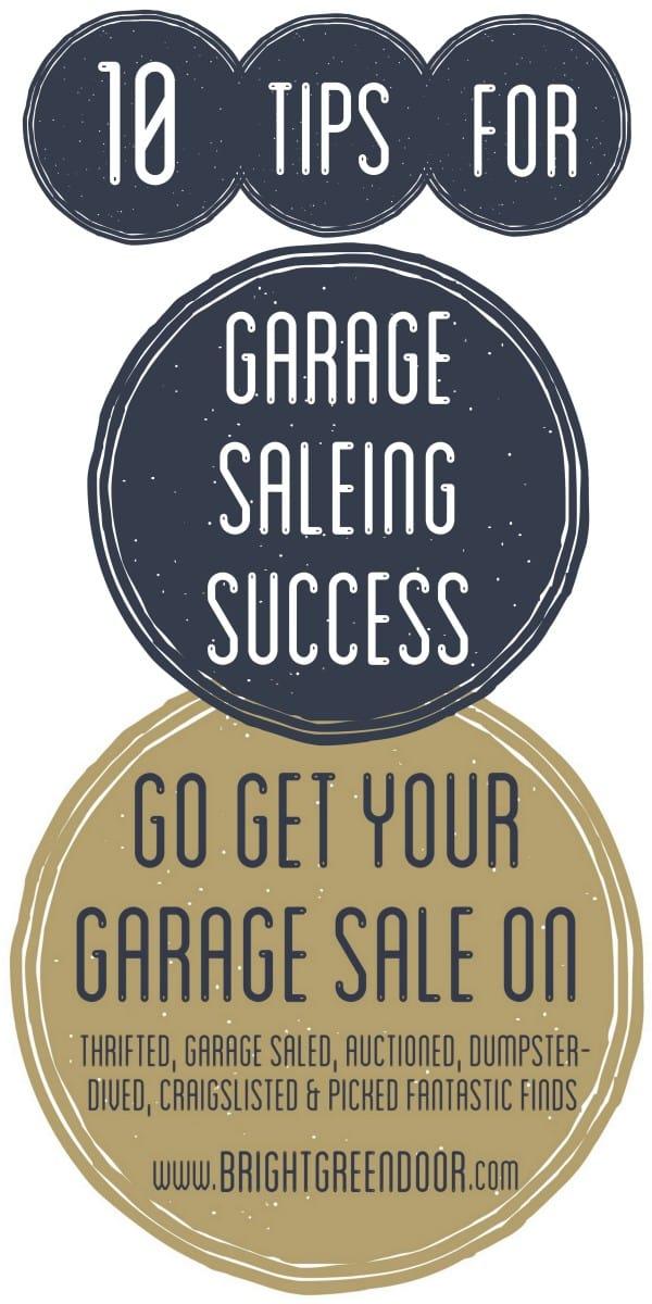 10 Tips for Garage Saleing Success