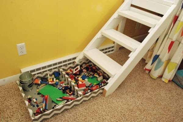 Kids Bed with Stairs instead of Ladder