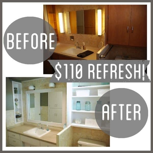 Affordable Bathroom Transformation Bathroom Flip