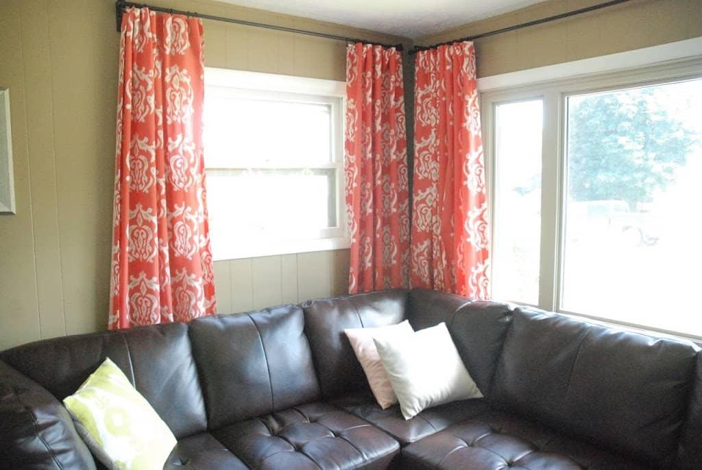 My No Sew Pinch Pleat Curtains