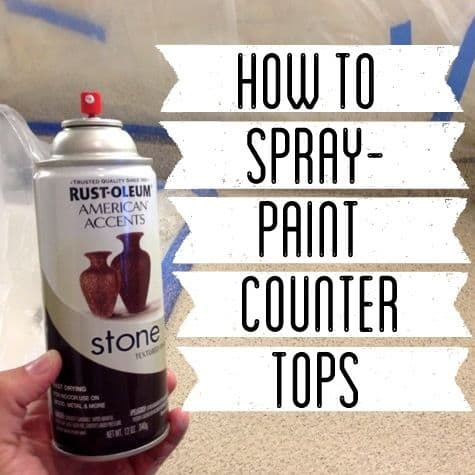 How to spray paint countertops 8 bright green door for How to spray paint doors