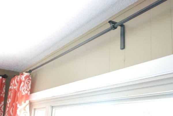 DIY Conduit Curtain Rods