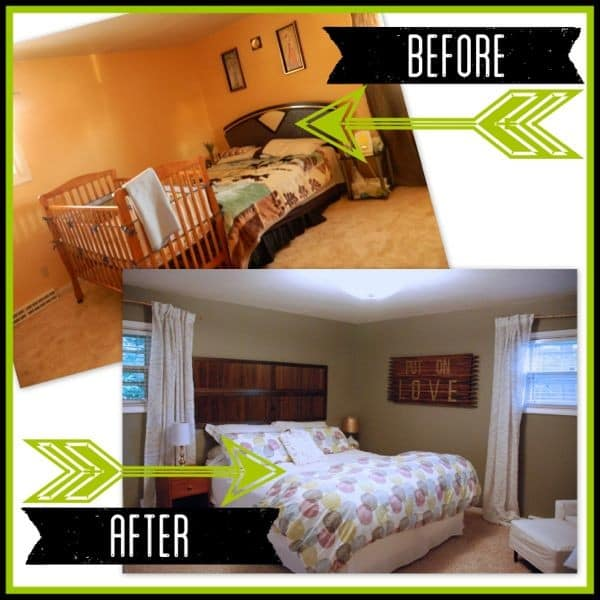 How to Flip a House Master Bedroom