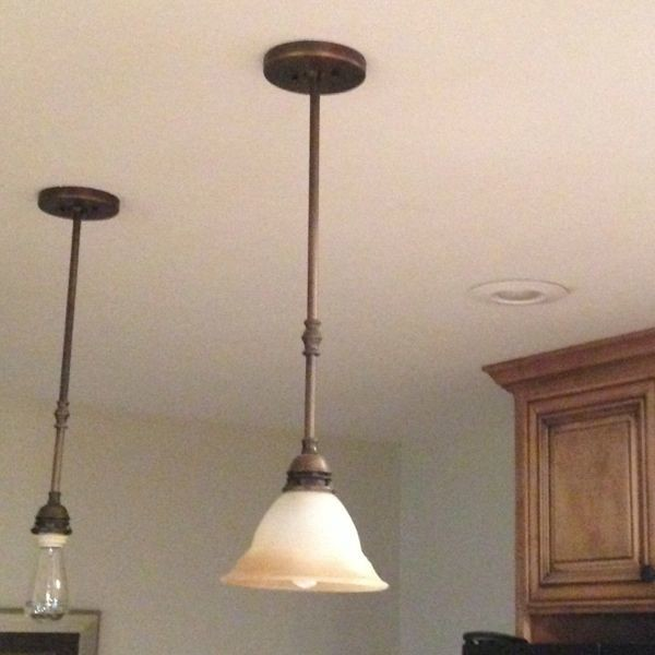 Industrial Pendant Light Makeover