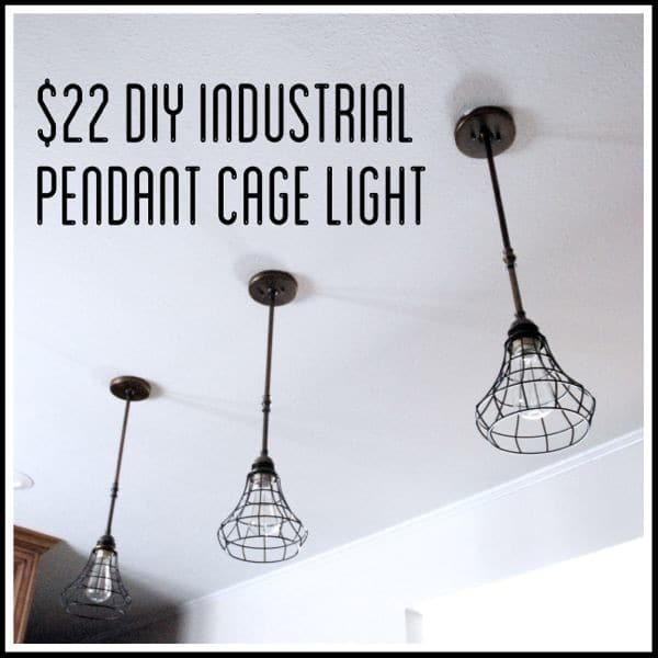 Cheap Industrial DIY Lighting