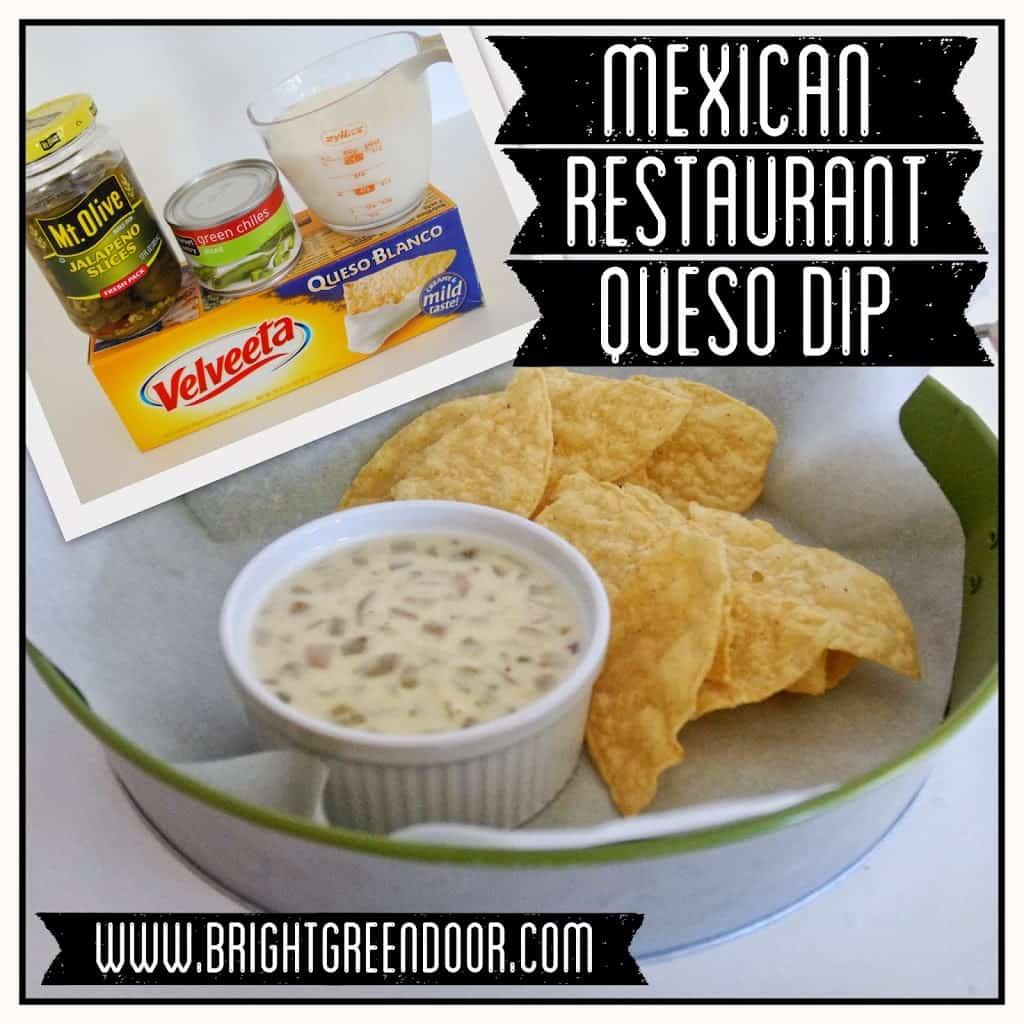 Mexican Restaurant Queso Dip