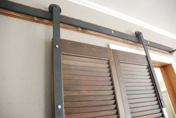 DIY Barn Door Hardware Tutorial