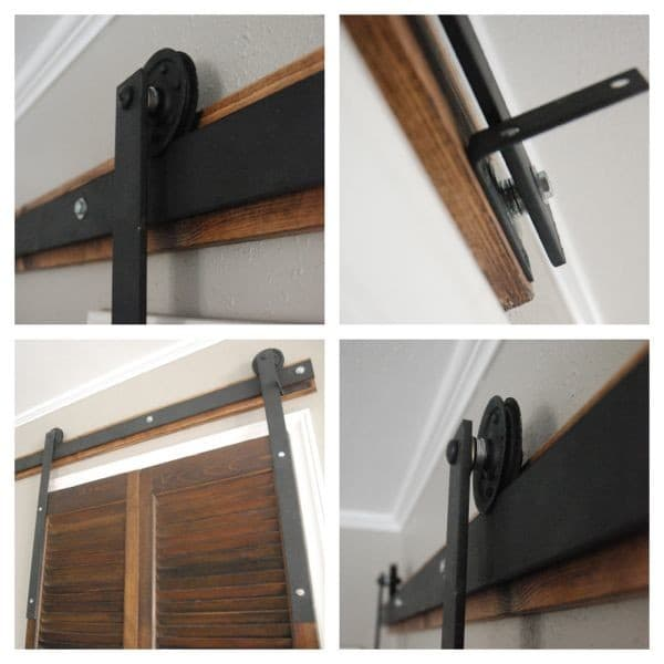 Build A Barn Door Track And Rollers