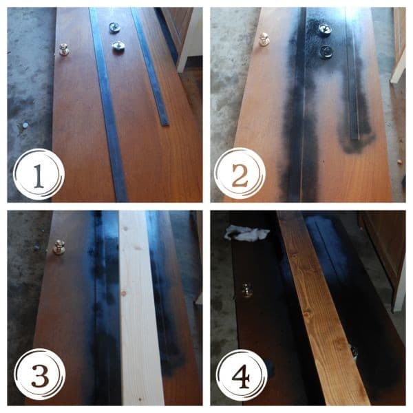 How to DIY Barn Door Track and Rollers