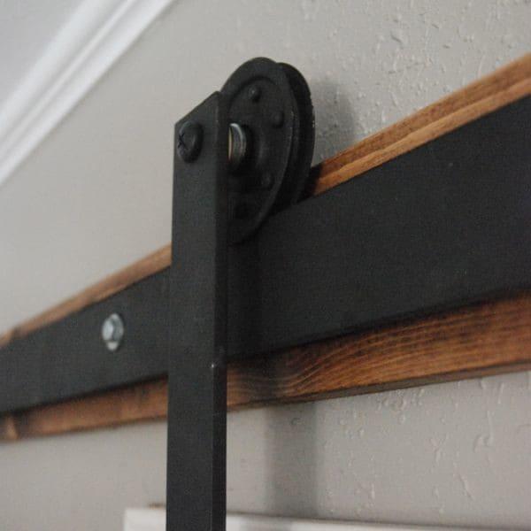 DIY Barn Door Track Hardware