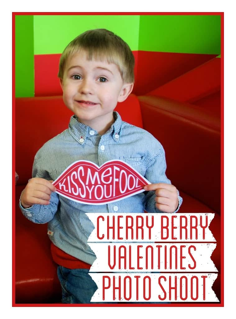 Cherry Berry Valentine's Photo Shoot
