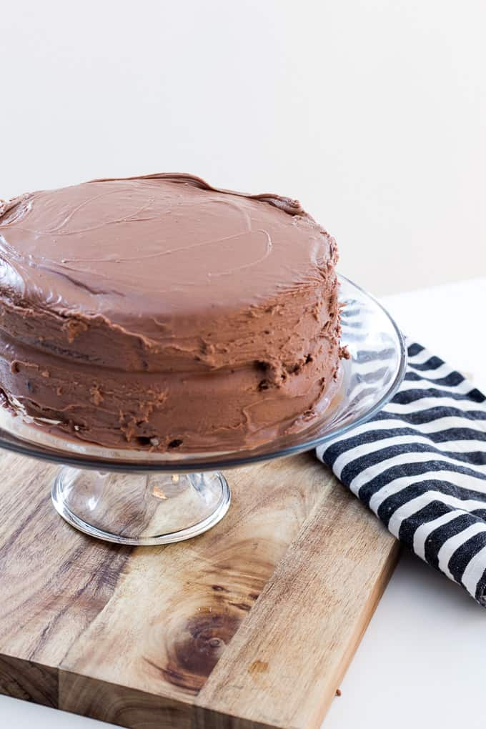 how to make chocolate fudge cake recipe