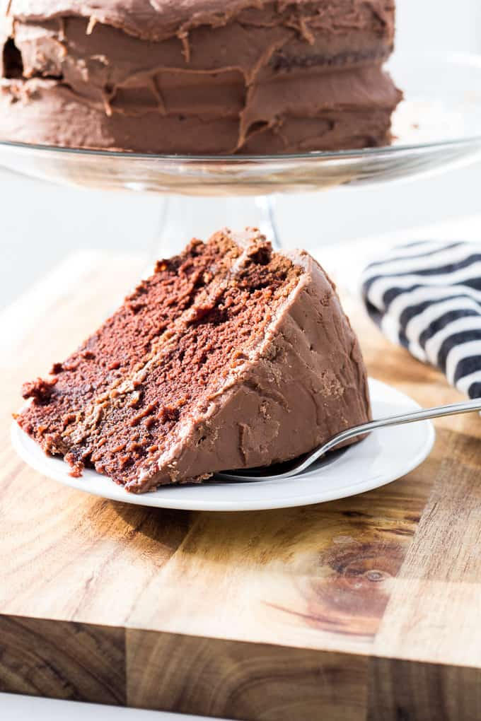 Chocolate Fudge Cake Recipe Homemade Fudge Birthday Cake