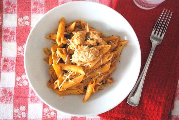 Tomato & Pesto Chicken Penne Pasta - 3