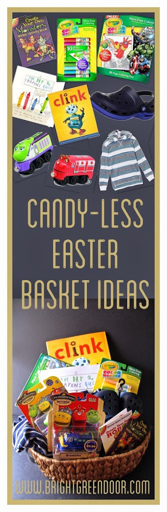 Candy-Less Easter Basket Ideas