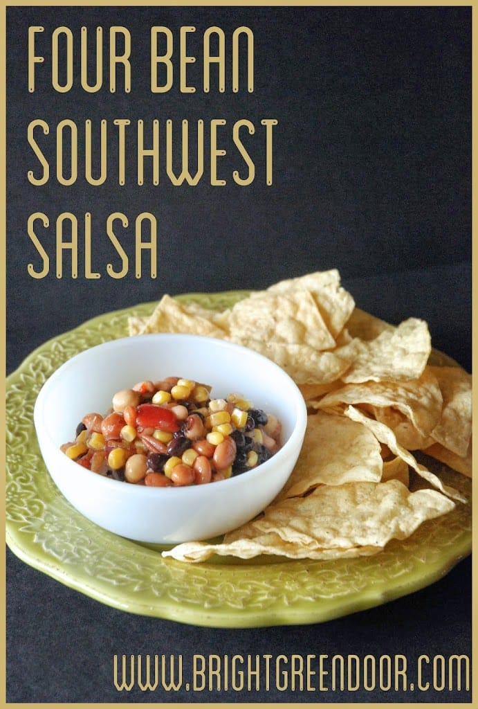 Four Bean Southwest Salsa