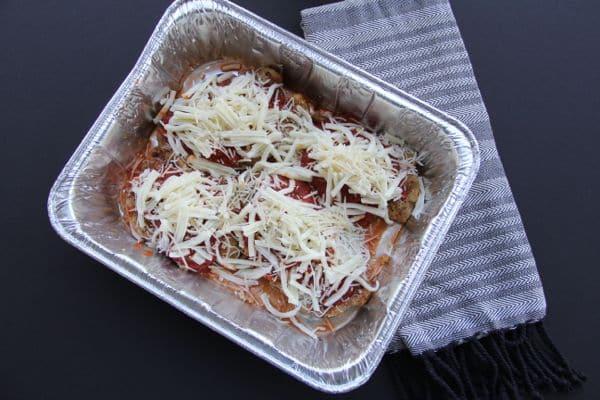 Restaurant Style Chicken Parmesan