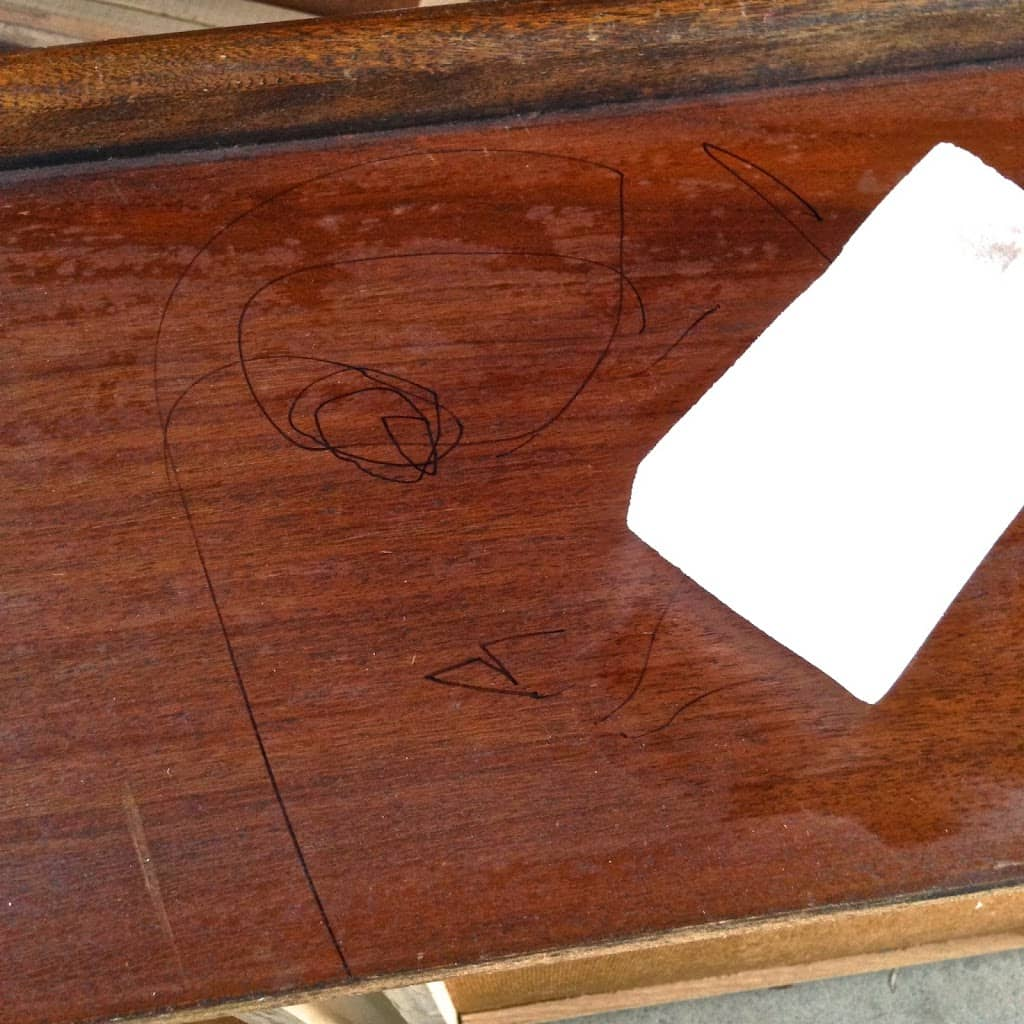 How to Remove Sharpie from Wood Furniture