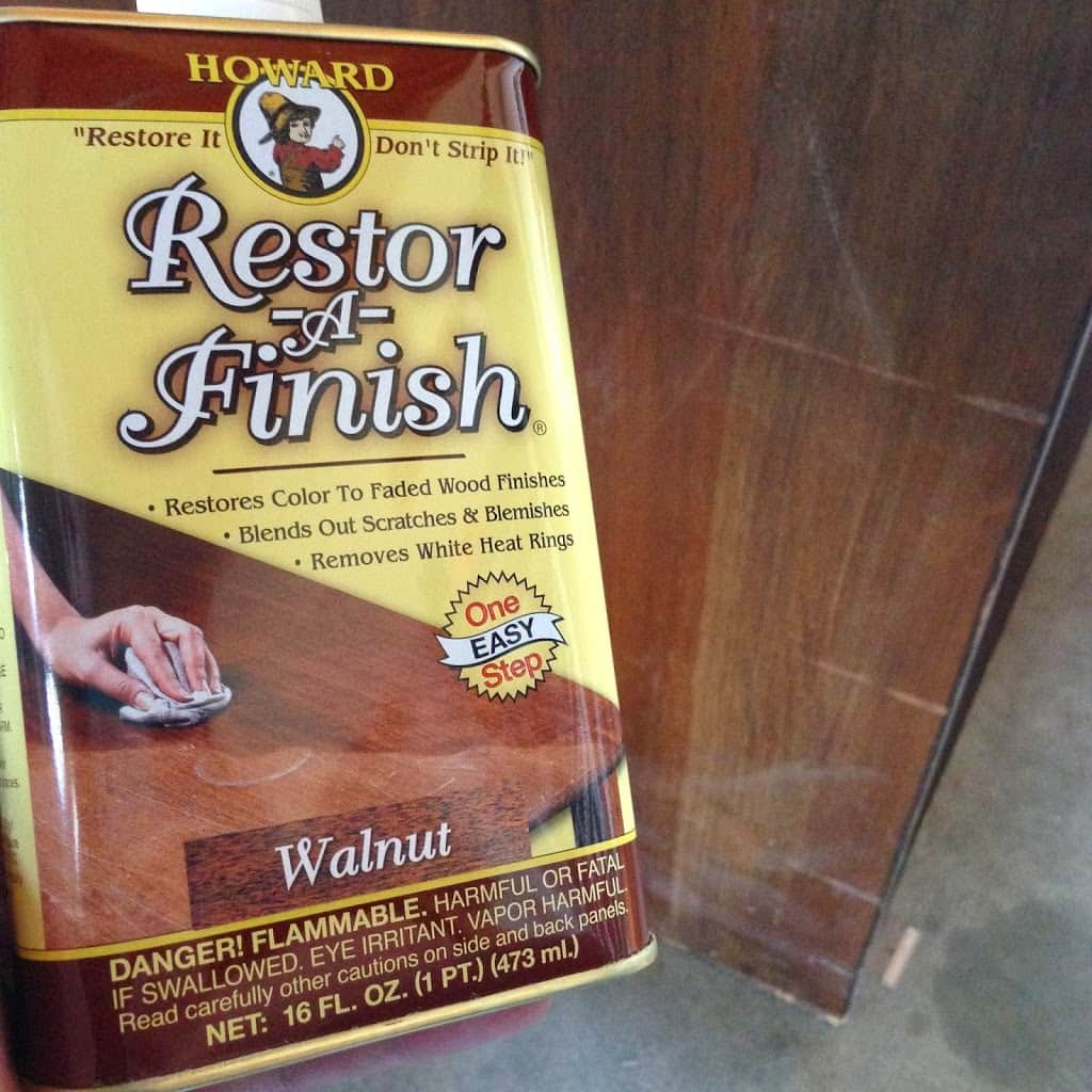 Restor-A-Finish in Walnut