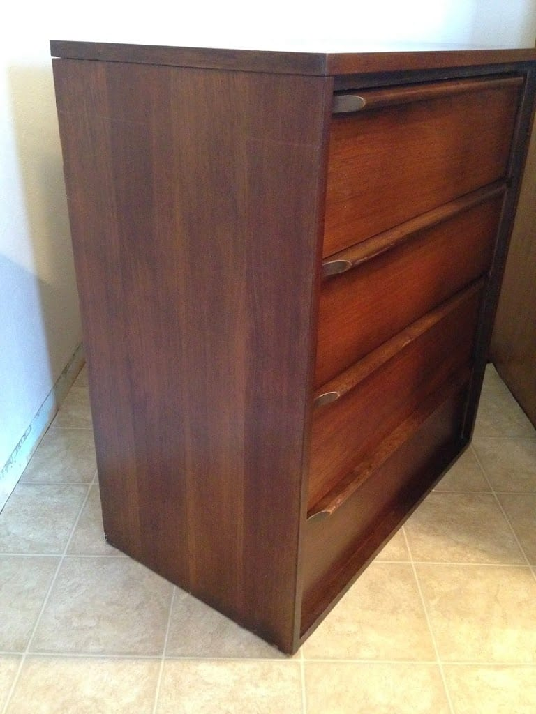 Refinished Midcentury dresser
