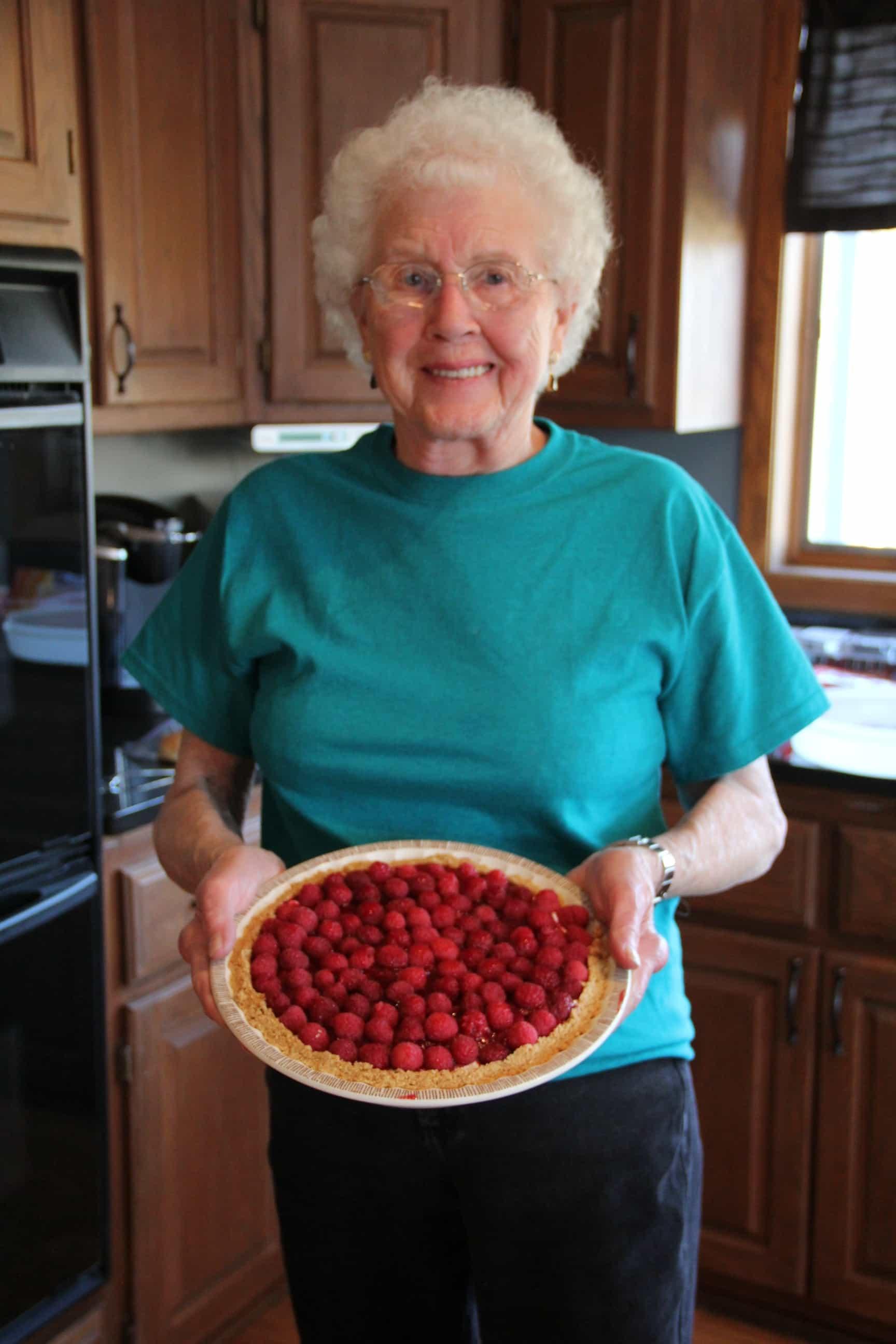Verna Olson's Famous Raspberry Pie