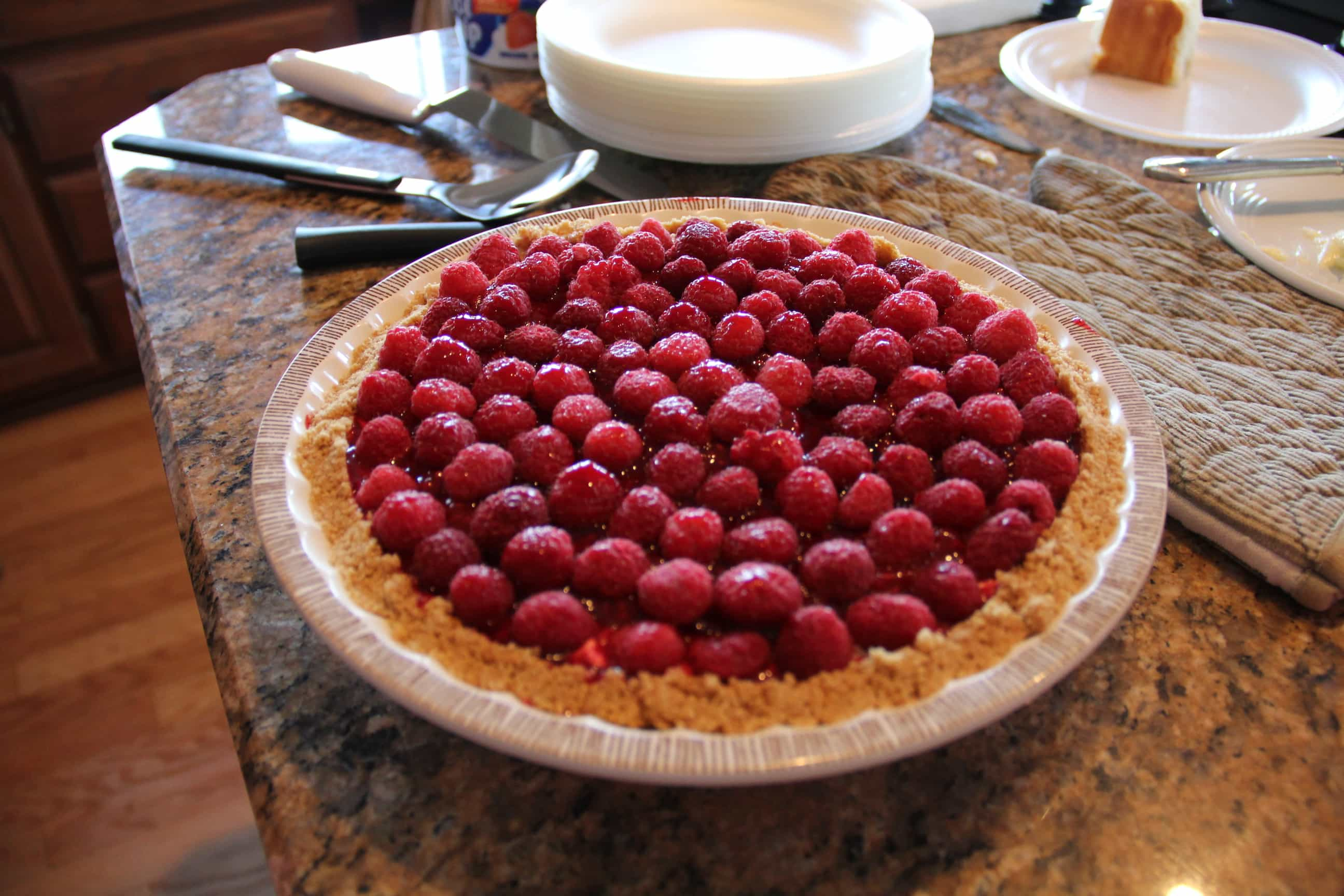 Summer Raspberry Pie Recipe