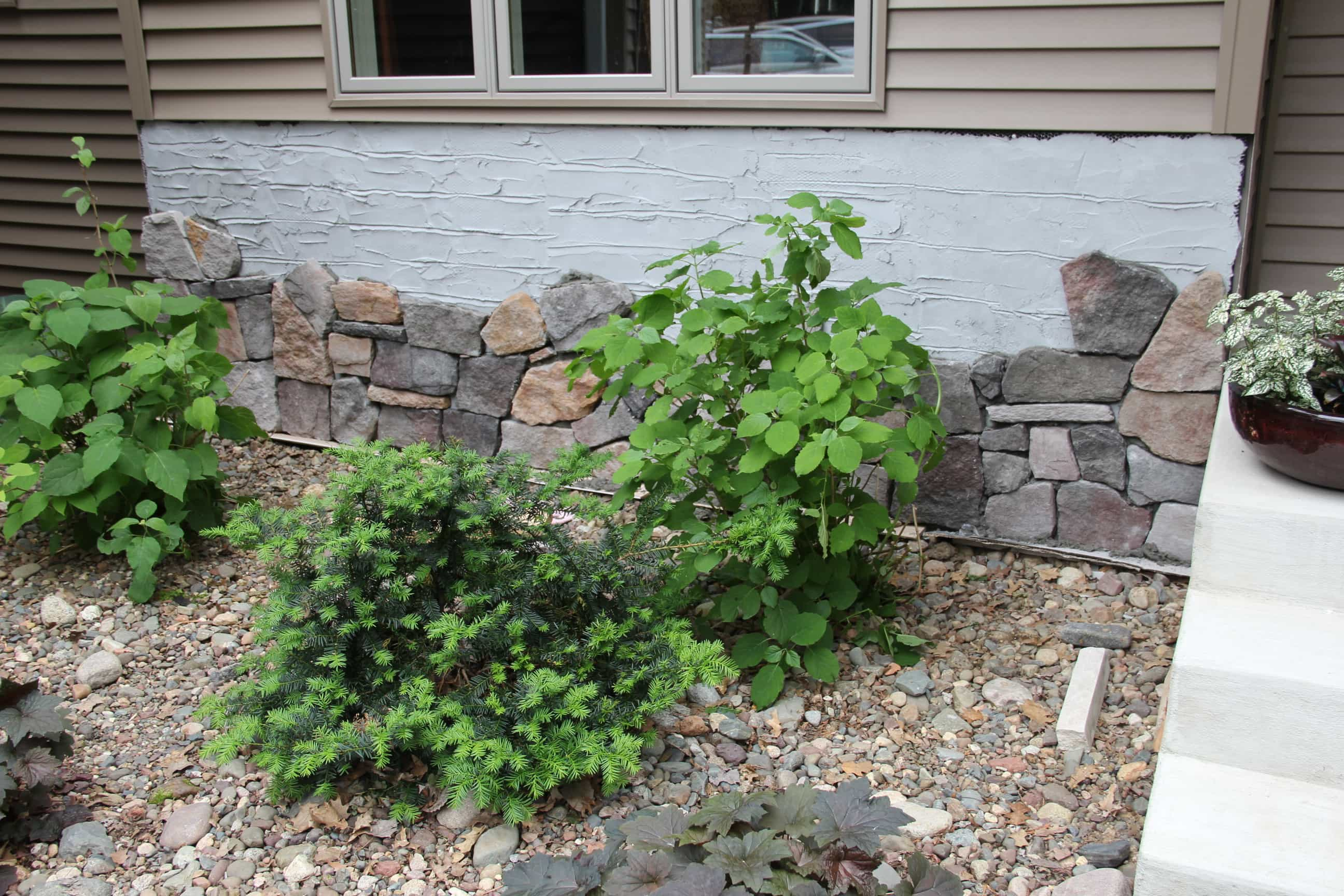 HOW to DIY Rock Siding on Home