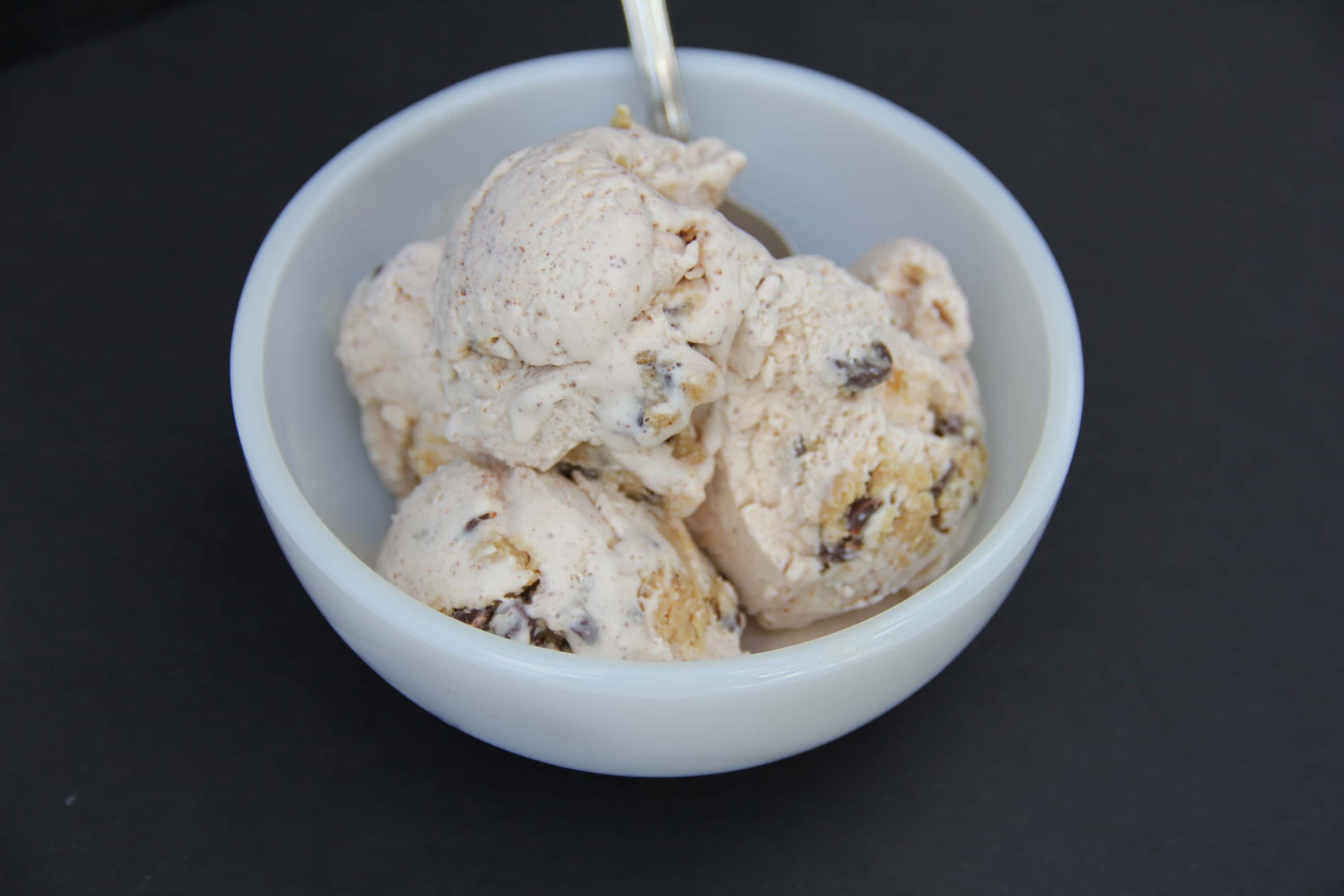 Cinnamon Cookie Chunk Homemade Ice Cream Recipe