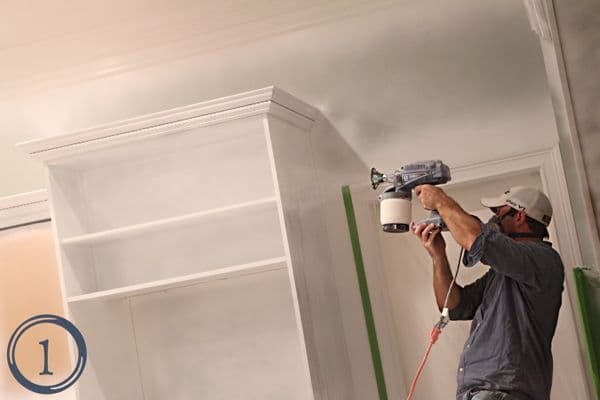 How to Use a Paint Sprayer to Transform your Kitchen