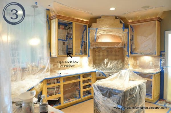 best tutorials for painting cabinets with a sprayer. Black Bedroom Furniture Sets. Home Design Ideas