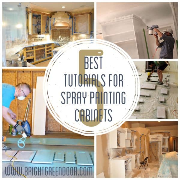 Best Cabinet Paint Spraying Tutorials