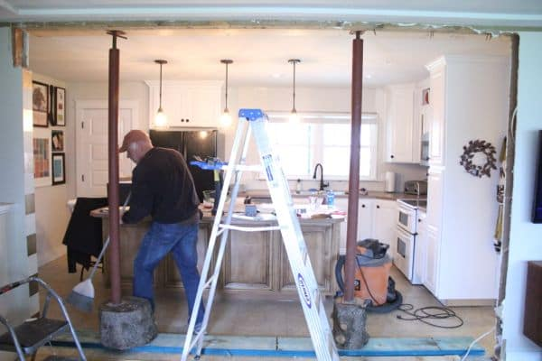 Creating the Open Concept Kitchen-6