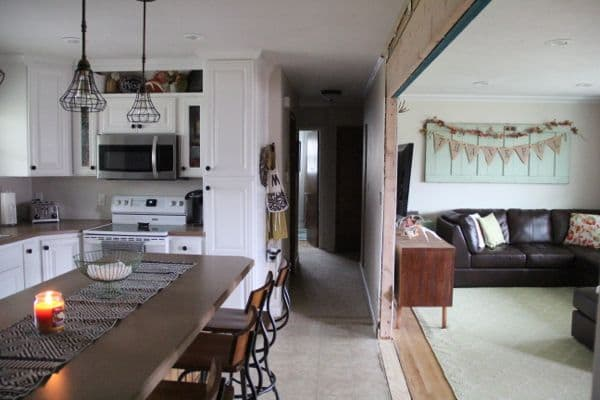 Creating the Open Concept Kitchen-9